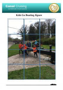 Kids go boating jigsaw