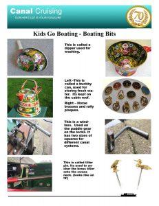 Kids go boating boating bits