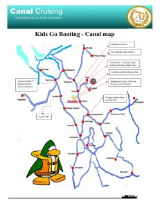 Kids go boating canal map