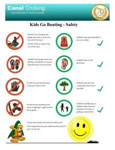 Kids go boating safety