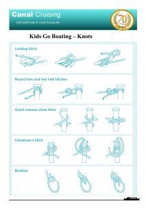 Kids go boating knots